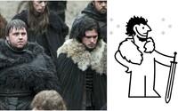 IKEA zveřejnila vtipný návod, jak si z jejich koberců vyrobit kostým z Game of Thrones. Chvilka práce a můžeš vypadat jako Jon Snow