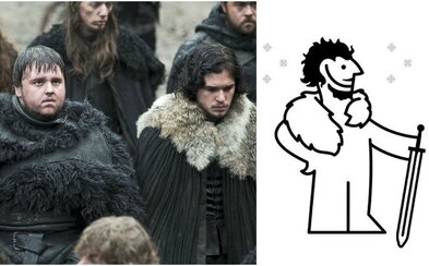 IKEA zverejnila vtipný návod, ako si z ich kobercov vyrobiť kostým z Game of Thrones. Chvíľka práce a môžeš vyzerať ako Jon Snow