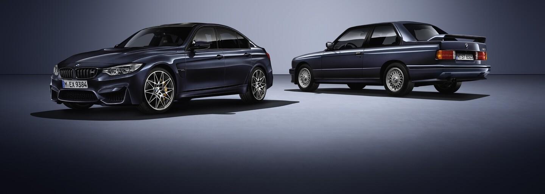Ikonická M3 slaví padesátku, BMW si připravilo 450koňovou specialitku 30 Jahre