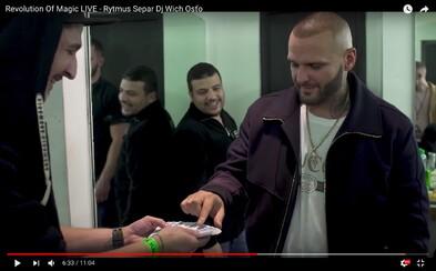 Iluzionista a kúzelník Radek tentokrát zaskočil Rytmusa aj Osťa priamo v backstagei Separovho krstu v Prahe