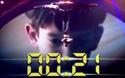 Iluzionista Darcy Oake bol vo finále sekundu od smrti