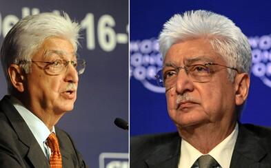 Indický boháč věnoval 7,5 miliardy dolarů na charitu