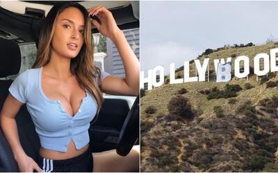 Influencerku zatkli kvůli snaze přepsat nápis Hollywood na Hollyboob. Protestovala tím proti Instagramu