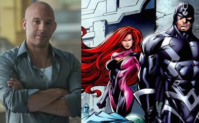 Inhumans sa presúvajú do seriálových vôd. Na jeseň 2017 odvysiela AMC 8-dielnu sériu s Black Boltom
