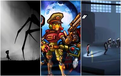 Inside a Limbo v tobě probudí logické myšlení a tahová hra SteamWorld Heist tě pobaví hláškami robotů