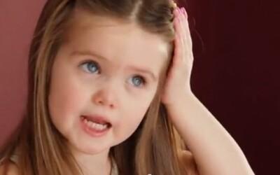 Inšpiratívne video o 3-ročnom dievčatku, ktoré sa vzdalo dlhých vlasov