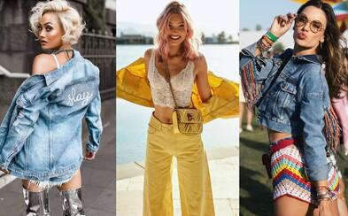 Inšpiruj sa džínsovou bundou Elsy Hosk či Alessandry Ambrosio, ktoré okrem klasiky obľubujú aj jej farebné a zdobené verzie