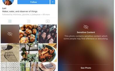 Instagram bude cenzurovať nástenky používateľov a chrániť ich tak pred citlivým obsahom, ktorý by ich mohol prekvapiť