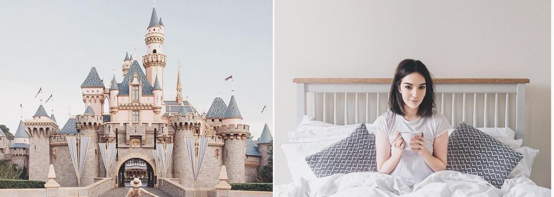 Instagram je plný podvodov. Blogerka za jednu noc omladla o 10 rokov a fanúšikovia si mysleli, že deň prežila v Disneylande