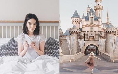 Instagram je plný podvodů. Blogerka za jednu noc omládla o 10 let a fanoušci si mysleli, že den prožila v Disneylandu