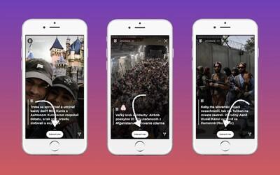 Instagram končí s funkciou swipe up. Namiesto nej bude môcť každý pridať do príbehu nálepku s odkazom