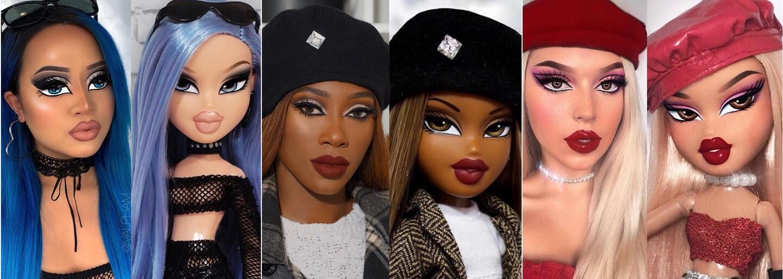 Instagram ovládla nová make-up výzva. Ženy sa líčia a obliekajú ako populárne bábiky