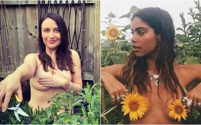Instagram ovládly tisíce fotek nahých žen v zahradě. Zapojily se totiž do ulítlé výzvy