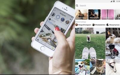 Instagram přináší obrovskou nálož novinek. Nový Explore feed, videohovory i integrace Spotify