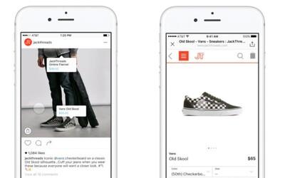 Instagram připravuje vlastní nákupní platformu. Produkt koupíš přímo v aplikaci
