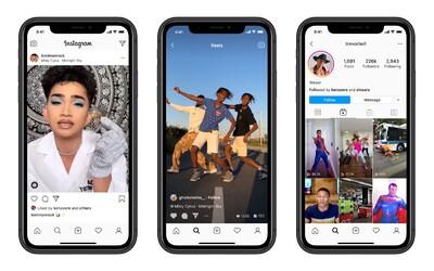 Instagram spustil konkurenci TikToku
