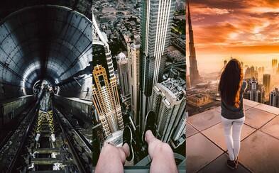 Instagramový profil, ktorý ťa vytiahne do ulíc nočného Tokia aj na strechy dubajských mrakodrapov