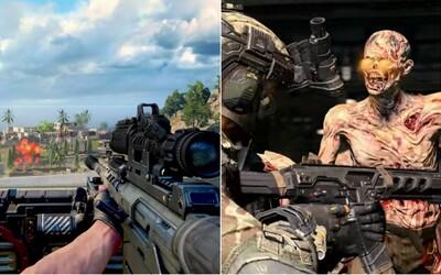 Intenzivní battle royale mód pro nové Call of Duty se ukazuje ve skvělém gameplay traileru. Nechybí ani zombíci