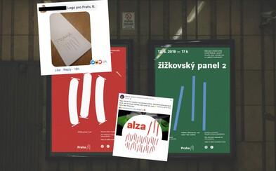 Internet reaguje na nové logo Prahy 3. Prý připomíná čáry kokainu, logo Tří sester nebo lístek v hospodě