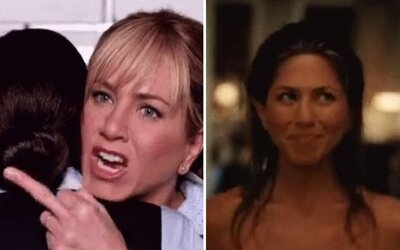 Internet reaguje na rozvod Brangeliny vtipnými obrázkami Jennifer Aniston. Raduje sa herečka v súkromí domova?
