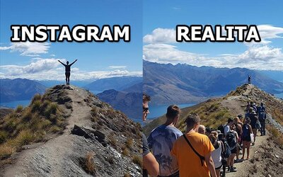 Internet sa smeje z miesta, kde vznikajú jedinečné fotky na Instagram. Aby si bol unikátny, treba sa postaviť do radu