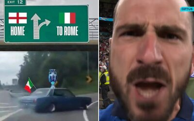 Internet sa vysmieva Angličanom. It's coming to Rome, znejú hlasy mémových stránok po zbabraných penaltách