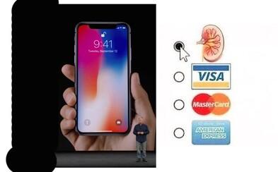 Internet sa zabáva na najnovšom iPhone X. Ak nemáš obličku navyše, radšej zostaň pri svojom starom smartfóne