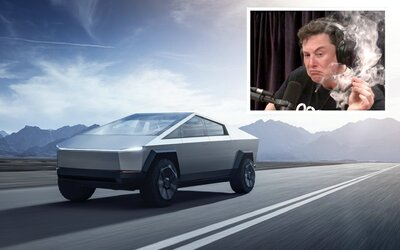 Internet si uťahuje z Tesly Cybertruck. Elon Musk ju vraj vymyslel počas slávneho fajčenia marihuany