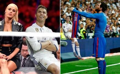 Internet si zamiloval oslavu Cristiana Ronalda po hattricku do sítě Atlétika Madrid. Portugalský bombardér se stal obětí vtipných fotomontáží