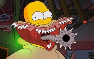Intro Simpsonovcov v hororovom prevedení Guillerma del Tora