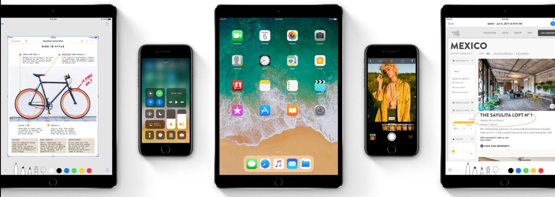 Intuitívnejšie ovládanie, nové funkcie aj pár zmien. Kedy si budeme môcť stiahnuť a nainštalovať iOS 11?