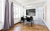 Investice ve výši 500 000 korun dokáže změnit menší bydlení k nepoznání. Pražský minibyt je toho jasným důkazem