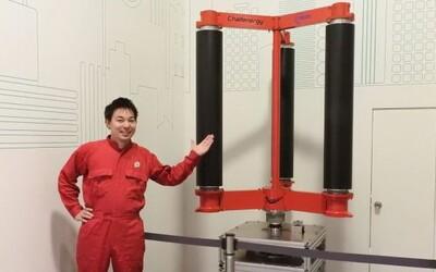 Inženýr zhotovil větrné turbíny, které po jednom tajfunu vyrobí tolik energie, že Japonsku vystačí na 50 let