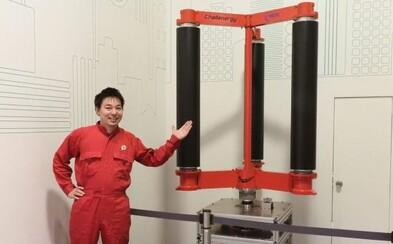 Inžinier zhotovil veterné turbíny, ktoré po jednom tajfúne vyrobia toľko energie, že Japonsku vystačí na 50 rokov