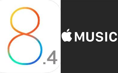 iOS 8.4 je venku. Updatněte svůj iPhone, iPod nebo iPad na aktuální software