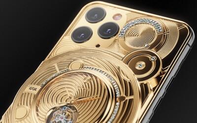 iPhone 11 Pro za více než 100 tisíc dolarů? Objednáš si ho z Ruska i s luxusními mechanickými hodinkami