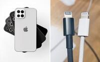 iPhone 12 pravdepodobne dostane prémiovejší pletený kábel v balení. Nabíjačku k nemu ale nehľadaj