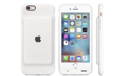 iPhone 6S získalo oficiálne puzdro s batériou. Apple prisľúbil až 25-hodinovú výdrž