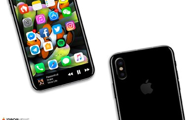 iPhone 8 bez rámikov je opäť bližšie k realite. Nový patent Applu dokonca hovorí aj o Touch ID priamo v displeji