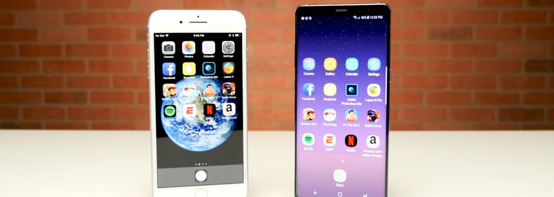iPhone 8 Plus si zmeral sily s pýchou Samsungu. Galaxy Note8 v teste dokázal, že aj Android môže byť rýchly