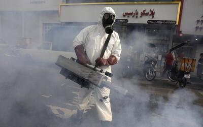 Írán koronavirus nezvládá, každých deset minut tam zemře jeden nakažený
