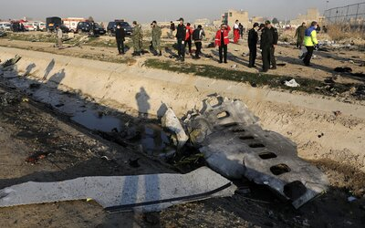 Írán se přiznal, že sestřelil ukrajinské letadlo