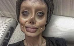 Íránka tvrdila, že podstoupila 50 plastických operací, aby vypadala jako Angelina Jolie. Nyní ji zatkli za rouhání