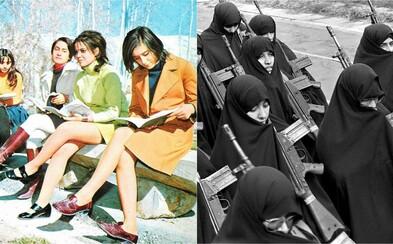 Íránská islámská revoluce: Pálení amerických vlajek, miliony lidí v ulicích a nástup tvrdého náboženského režimu