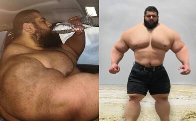 Iránsky Hulk oficiálne vstupuje do MMA. Prvý súboj by mal absolvovať s brazílskym súperom