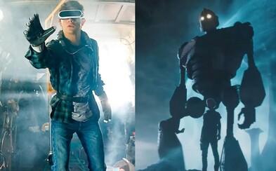 Iron Giant, Harley Quinn aj DeLorean. Čo všetko ešte odhalili fantastické zábery z veľkolepého Spielbergovho sci-fi Ready Player One?