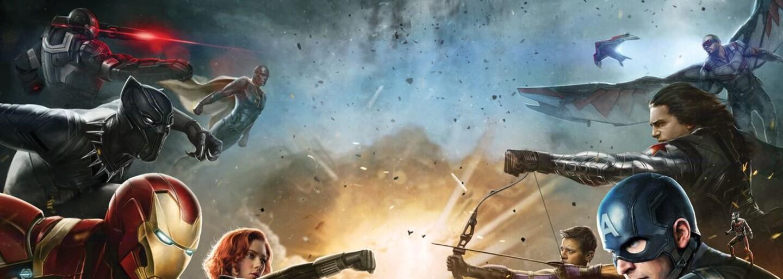 Iron Man a Captain America posielajú svojich priateľov na smrť vo veľkolepom traileri pre Civil War