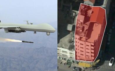 Izrael zvolil novou metodu boje proti hackerům. Jejich dům srovnal se zemí dron