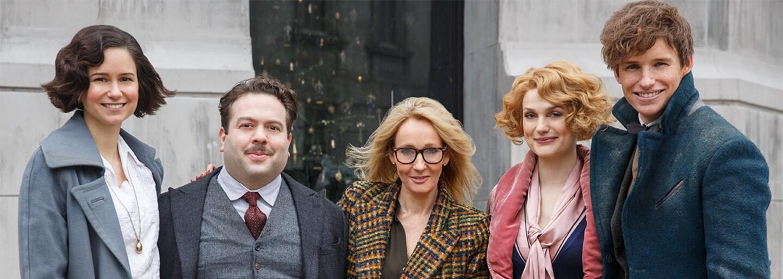 J. K. Rowling dokončila scénár pre Fantastické zvery 2 a oznámila to podareným tweetom fanúšičke