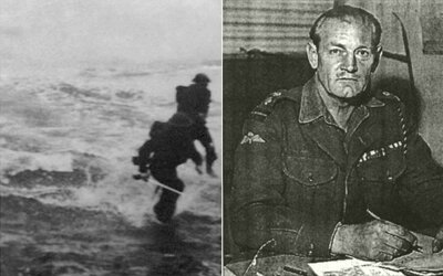 Jack Churchill - britský vojak, ktorý v druhej svetovej vojne bojoval s lukom a mečom